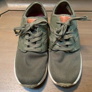 Dr. Scholl's Olive Green Orthopedic Sneakers